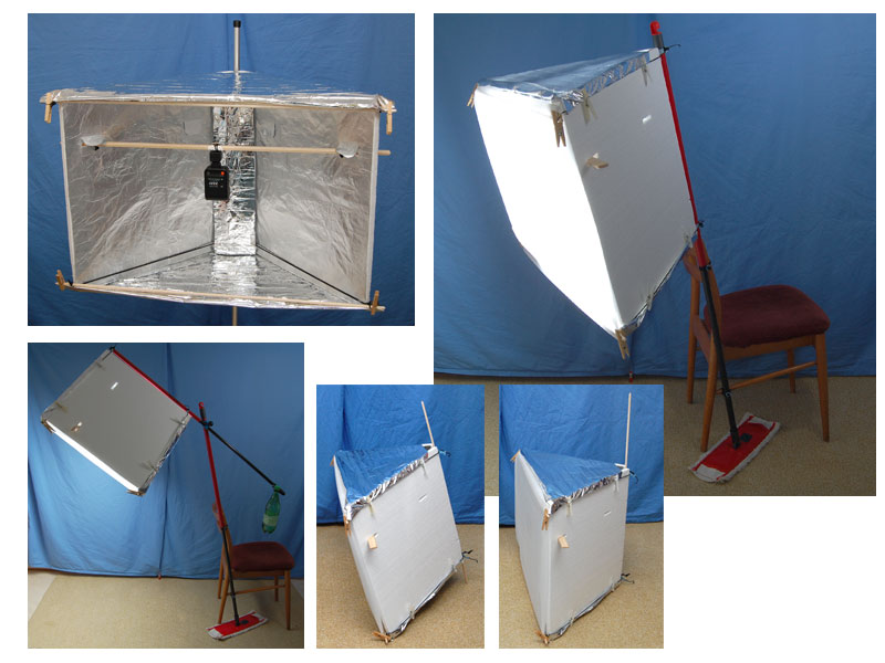 Muttafino Diy Reflector Softbox Lightbox